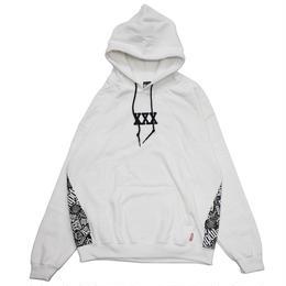 XXX PULLOVER HOODIE / WHITE