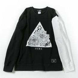 Delta Flower Sweat / BLACK