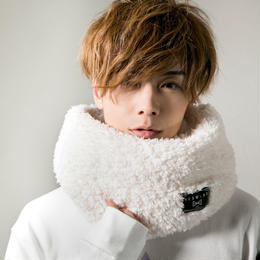 "HEDWiNG スヌード ""Fluffy Snood"" / WHITE"