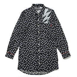 TRIBE TENT LONG SHIRT / BLACK