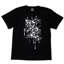 D,E Drip T-sh / BLACK