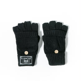 "HEDWiNG グローブ ""Knit Gloves"" / BLACK"