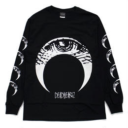 EYE L/S TEES / BLACK