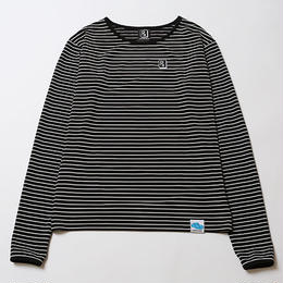 NOTICE [ LOOSE BORDER CUTSEW ] / BLACK