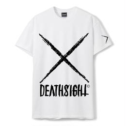 deathsight logo tees /WHITE