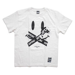 "SECRET SMILE ""BATSU""T-SHIRT / WHITE"