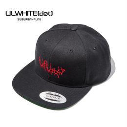 -VAIN- SNAPBACK CAP / BLACK-RED