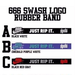 666 SWASH LOGO RUBBER BAND