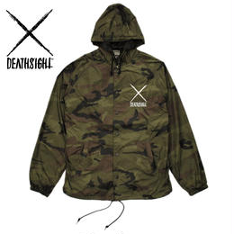 """deathsight"" NYLON CAMO JACKET"