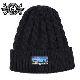 ASAGONIA KNIT CAP / BLACK