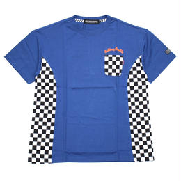 RC CHECKER BIG Tee / BLUE