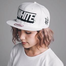 3D LOGO CAP/WHITE