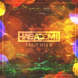 CD「CRAZY INTO U / HABADEMI」特典ミニサイン色紙付