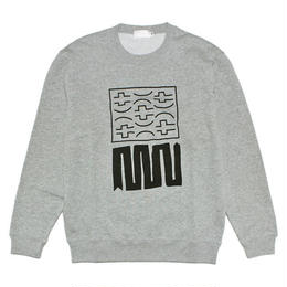 "【MACCIU】SWEATSHIRT ""UNTITLED #01 (NOTHING IS PERMANENT)"""