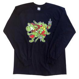 Mutant Lime Green Long-Sleeve T-Shirt
