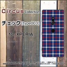 XPERIAシリーズ チェック(type003) スマホケース ハードタイプ (品番ci-015)