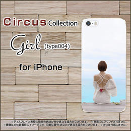 iPhoneシリーズ Girl(type004) スマホケース ハードタイプ (品番ci-056)