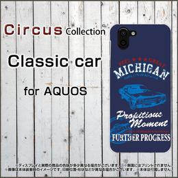 AQUOSシリーズ Classic car スマホケース ハードタイプ (品番caq-062)