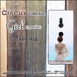 XPERIAシリーズ Girl(type004) スマホケース ハードタイプ (品番ci-056)