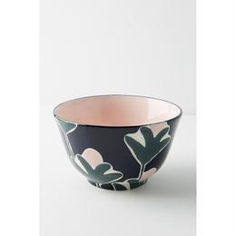 Leaf bowl pink