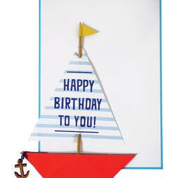 Sailing Boat Card
