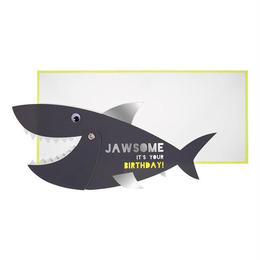 Jawsome Shark Card