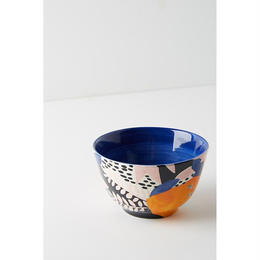 Leaf bowl blue