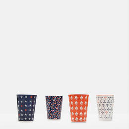 BEAU Set of Four Beakers Seaside