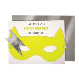Boy Superhero Card