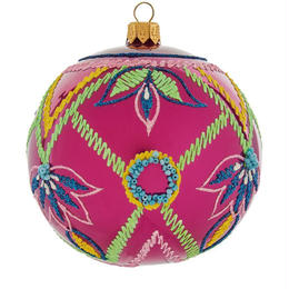 Geometric Embellished Bauble