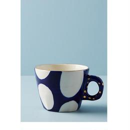 Dot mug blue