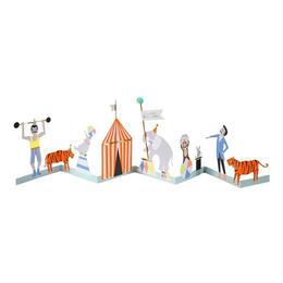 Circus Concertina Card