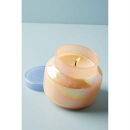 Capri Blue Iridescent Jar Candle-blue