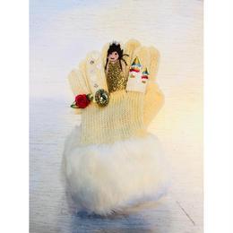 キッズ手袋 プリンセスホワイト