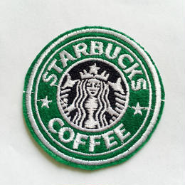 ワッペン Starbucks coffee
