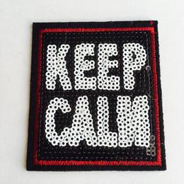 ワッペン keep  calm