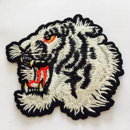 ワッペン white tiger