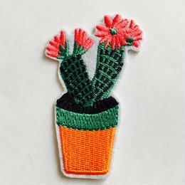 ワッペン cactus