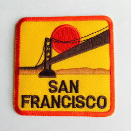 ワッペン sanfrancisco