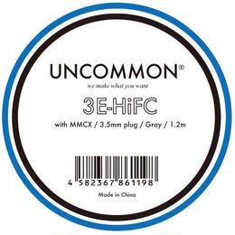 UNCOMMON 3E-HiFC(MMCXコネクタ付イヤホンケーブル/1.2m)