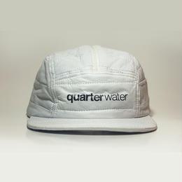 Bubble 5-Panel SnapBack Hats WHITE