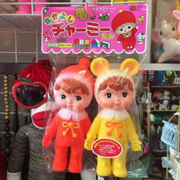 2体セット 2set なかよし チャーミーちゃん charmydoll Made in Japan WOODLANDDOLL