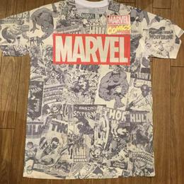MARVEL 総柄 Tシャツ