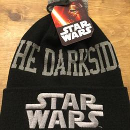 STARWARS DARKSIDE ロゴ ニット帽