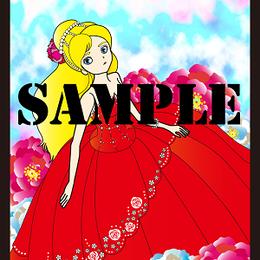 赤色ドレス【イラスト】DL