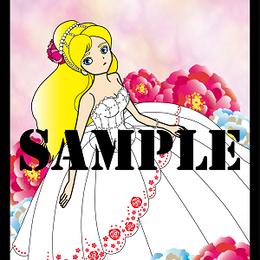 Whiteドレス【イラスト】DL
