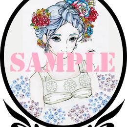 紫陽花の姫【イラスト】DL