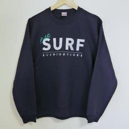 """""""net"""" SURF allnightlong スウェット(ネイビー)"""