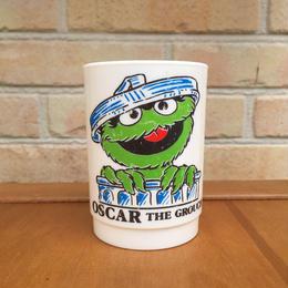 SESAME STREET Oscar Plastic Cup/セサミストリート オスカー プラスチックカップ/170719-2