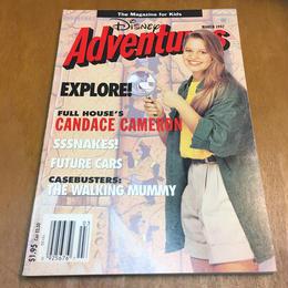 Disney Disney Adventures 1992 March/ディズニー ディズニーアドベンチャー 1992年 3月号/170909-9
